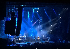 Picture from the DMB show I attended two months ago. I am causing your life to be filled with music you hate. Ha!