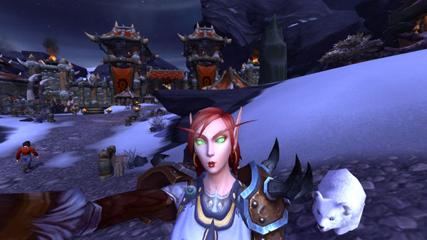 Joining the WoW Selfie movement with Akromah's new 6.1 RBF.