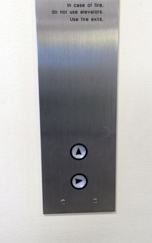 The elevator buttons at my office building spin around. I could easily spend all of my time fixing them on every floor.